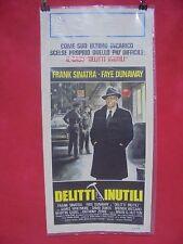 COD: D 0011 locandina titolo: DELITTI INUTILI con Frank Sinatra