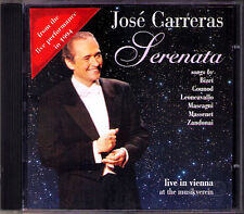 Jose Carreras: serenata Vienna recital 1994 Gounod Bizet MASCAGNI Massenet CD