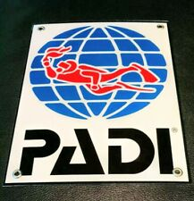 Scuba Diving PADI sign