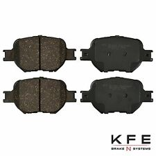 Premium Ceramic Disc Brake Pad Rear New Set Plus Shims Fits Honda Civic KFE1878