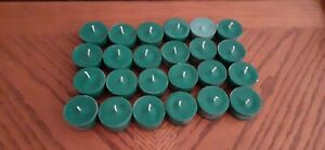 24 TEA LIGHTS  IN CHRISTMAS SCENTS  HIGHLY SCENTED HANDMADE