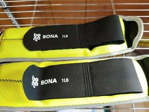 BONA SET OF ANKLE/WRIST WEIGHTS 1Lb each.