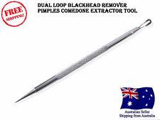 Blackhead whitehead remover spot cleaner pimple extractor salon acne needle pin