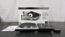 Sony Playstation 3 DJ Hero Turntable Bundle In Box ps3 Turntable Controller