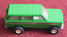 Original 1970's Tonka - Green Jeep Model Car with Opening Boot - 24 x 11cm (TC)
