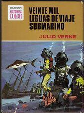 HISTORIAS COLOR: JULIO VERNE nº  1 VEINTE MIL LEGUAS DE VIAJE SUBMARINO Bruguera