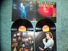 NEIL DIAMOND - JOB LOT X 7 - LOVE AT THE GREEK - RECORDED LIVE IN L.A.