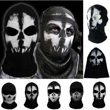 Skull Balaclavas Ghost Face Mask Tactical Game Scary Skeleton Motorcycle Mask