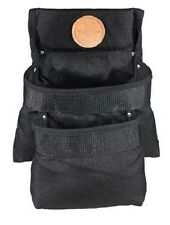 Klein Tools 5702 PowerLine 2-Pocket Utility Pouch, Black Nylon