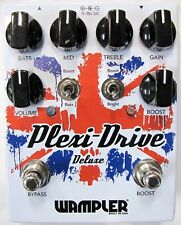 Used Wampler Plexi Drive Deluxe Overdrive Guitar Effects Pedal!