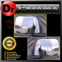 Triple Chrome ABS Mirror Cover 1 pair for 02-08 Dodge Ram 1500+2500+3500