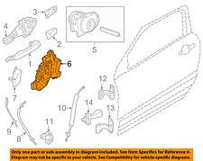 LAND ROVER OEM 12-17 Range Rover Evoque Front Door-Door Lock Kit LR091350