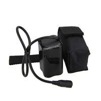 8.4V 4x18650 Set Rechargeable Battery Pack For Bike Light Headlight AU