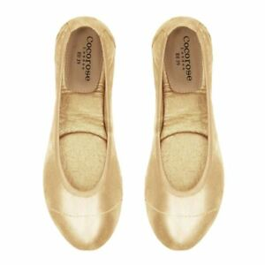 Cocorose Foldable Shoes - Barbican - Gold Shimmer