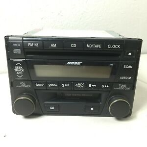 Mazda 2001-2002 626 AM FM Radio with CD and Cassette Player GJ4J669T0