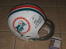 Paul Warfield signed Miami Dolphins HOF 1983 NFL Full Size TK Helmet JSA