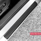 4x Parts Accessories Carbon Fiber Car Door Sill Scuff Cover Anti Scratch Sticker