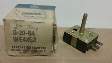 **NOS** Genuine GE Dryer Start Switch WC21X5021 D-20-64 - Q110