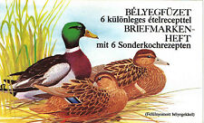 Hungary 1989. Animals / ducks OVERPRINTED booklet with 10 sets GERMAN MNH (**)