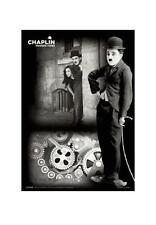 CHARLIE CHAPLIN MODERN TIMES 3-D POSTER HOLOGRAM LENTICULAR POSTER 66x46cm