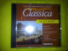 SCHUBERT - I GRANDI DELLA MUSICA CLASSICA (EDIZIONE DEAGOSTINI). CD.
