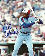 AL OLIVER 8x10 AUTOGRAPH Signed Photofile Photo MONTREAL EXPOS Canadian Baseball