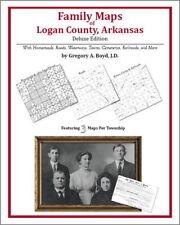 Family Maps Logan County Arkansas Genealogy AR Plat