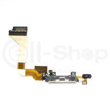 Conector Flex Dock Carga / Sincronizacion / Microfono para iPhone 4 4G Blanco