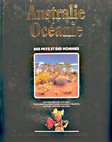 ++DES PAYS & DES HOMMES australie océanie - indonésie 1985 LAROUSSE EX++