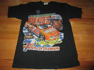DALE EARNHARDT SEVEN TIME WINSTON CUP CHAMPION Wheaties (LG) T-Shirt