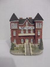 "Liberty Falls Courthouse Building Ah39 Euc 2 7/8"" Tall Village Cottage"