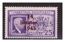 ALBANIA OCCUPAZIONE TEDESCA 1943 - ESPRESSO   NUOVO  **