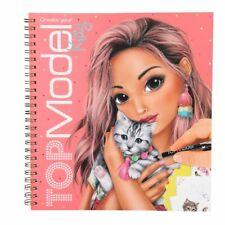 Create your TOPModel Kitty Malbuch   Depesche 10469   Kinder Malheft mit Sticker