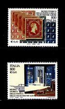 ITALIA 2000 2432/33 MUSEOS. MUSEO HISTORICO POSTAL DE LA TELECOMUNICACIÓN 2v.