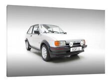 Ford Fiesta XR2 - 30x20 Inch Canvas Art - Framed Picture Print Classic