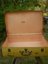 Vintage Collectable Durolite suitcase, brass fittings, storage /Air travel case,