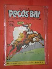 PECOS BILL-GLI ALBI-LIBRETTO MONDADORI-FASANI-N° 10-D-1960-+ DISPONIBILI ALTRI N