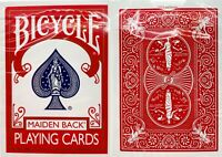 1 NEW SEALED DECK Bicycle Maiden Back MARKED (red, reader) playing cards