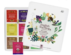 English Tea Shop - Organic - The Luxury Tea Collection - Gift Tray (72 Tea Bags)
