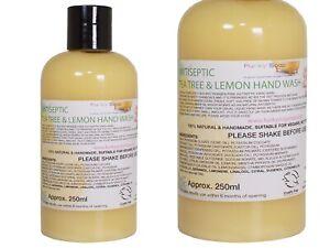 Lemon And Tea Tree Antiseptic Liquid Hand Wash, 1 Bottle Of 250ml