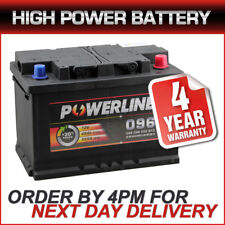 Powerline 096 Car Van Battery fits many Mercedes Mini Mitsu Nissan Peug Porsche