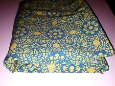 Steve Madden Green/Blue Kaleidoscope Pattern 1 Flat Sheet 80 x 92