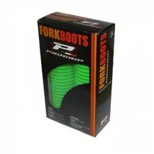 Kawasaki KX 125 250 500 fork Skins Boots 43mm Protectors Gators 1989 GREEN