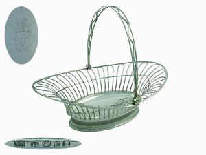 Georgian  Silver  Bread Basket 1791