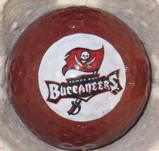 (1) Tampa Bay Buccaneers Nfl Football Logo Golf Ball