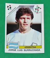 N°127 BURRUCHAGA ARGENTINA PANINI COUPE MONDE FOOTBALL ITALIA 90 1990 WC WM