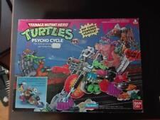 Teenage Mutant Hero Turtles (TMNT) 1990 PSYCHO CYCLE Vehicle, Playmates, Bandai