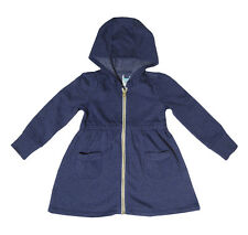 CHILDRENS BABY GIRLS JACKETS/HOODIES WITH ZIP AND HOOD - CHOICE OF COLOURS