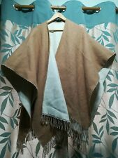 Vintage Fawn and Cream Cape/shawl/wrap