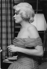 Photo originale Jayne Mansfield portrait profil